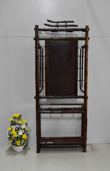 Antique BAMBOO HALLSTAND