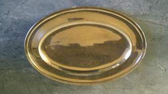 Antique SILVER DISH