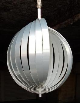 Antique 1970' Chandelier Moon,  By Henri Mathieu