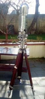 Antique Antique large  Binoculars Periscope by SWAROVSKI 10 X 50