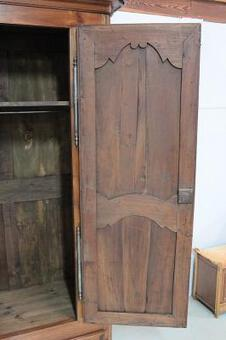 Antique 18th C BONNETIERE CUPBOARD