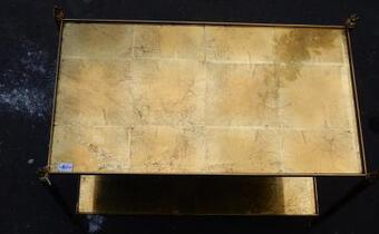 Antique 1970 ' Shelf Maison Bagués in Brass in the Olympic Flames