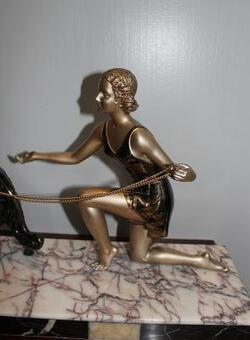 Antique ART DECO STATUE