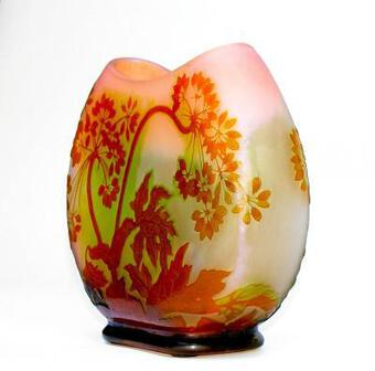 Antique ART NOUVEAU PERIOD VASE BY EMILE GALLE