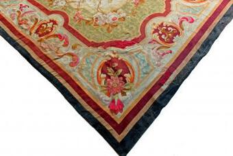 Antique 18th C AUBUSSON TAPESTRY