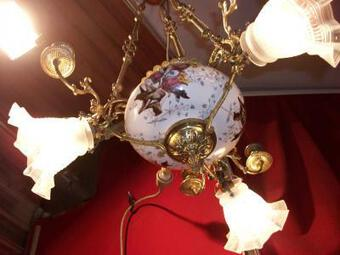 Antique 19th C LIGHT