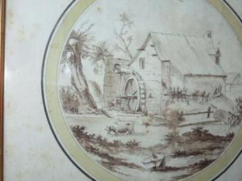 Antique 18th C DRAWING