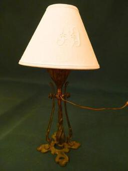 Antique ART NOUVEAU PERIOD LAMP