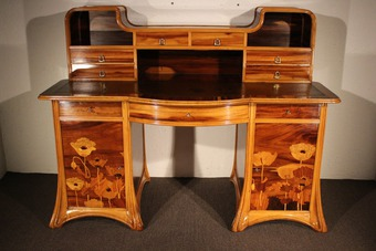 Antique ART NOUVEAU PERIOD DESK