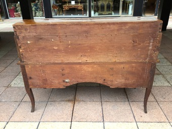 Antique 18th CENTURY CYLINDER TOP DESK
