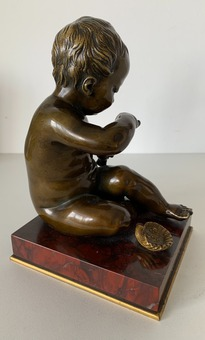 Antique BRONZE STATUETTE