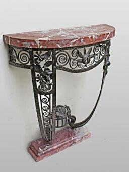 Antique ART DECO PERIOD CONSOLE TABLE