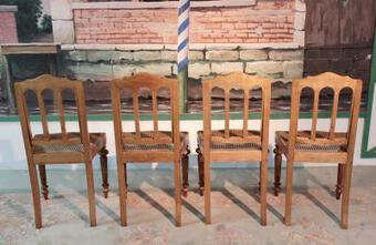 Antique LOUIS PHILIPPE STYLE CHAIRS