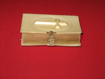 Antique 19th C IVORY MISSEL