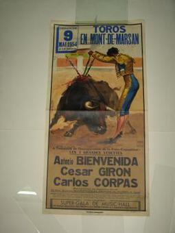 POSTER DATED 1954