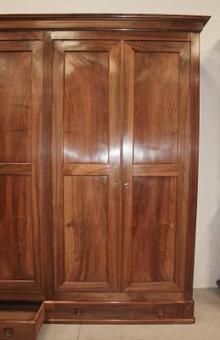 Antique SIX DOOR ARMOIRE