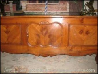 Antique LOUIS XV STYLE CHEST- DESK