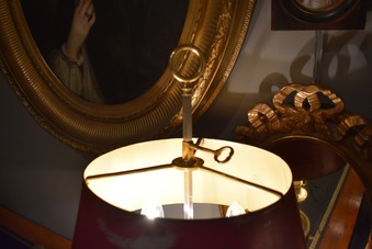 Antique BOUILLOTTE LAMP