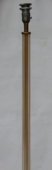 Antique 1950/70 Barovier & Toso Tripod Floor Lamp With Gold Paillons