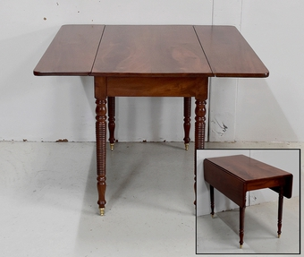 LOUIS PHILIPPE PERIOD DROP LEAF TABLE