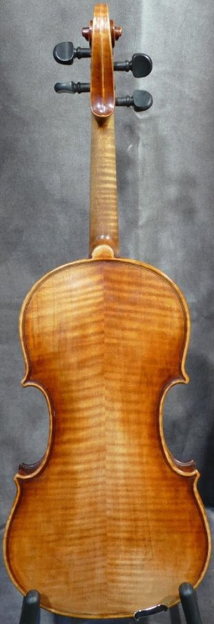 VIOLIN 4/4 by J A Baader at Mittenwald last 19Th century ( 1883 )