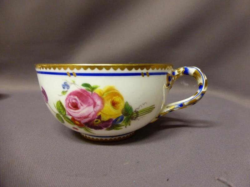 Antique PORCELAIN TEA SERVICE