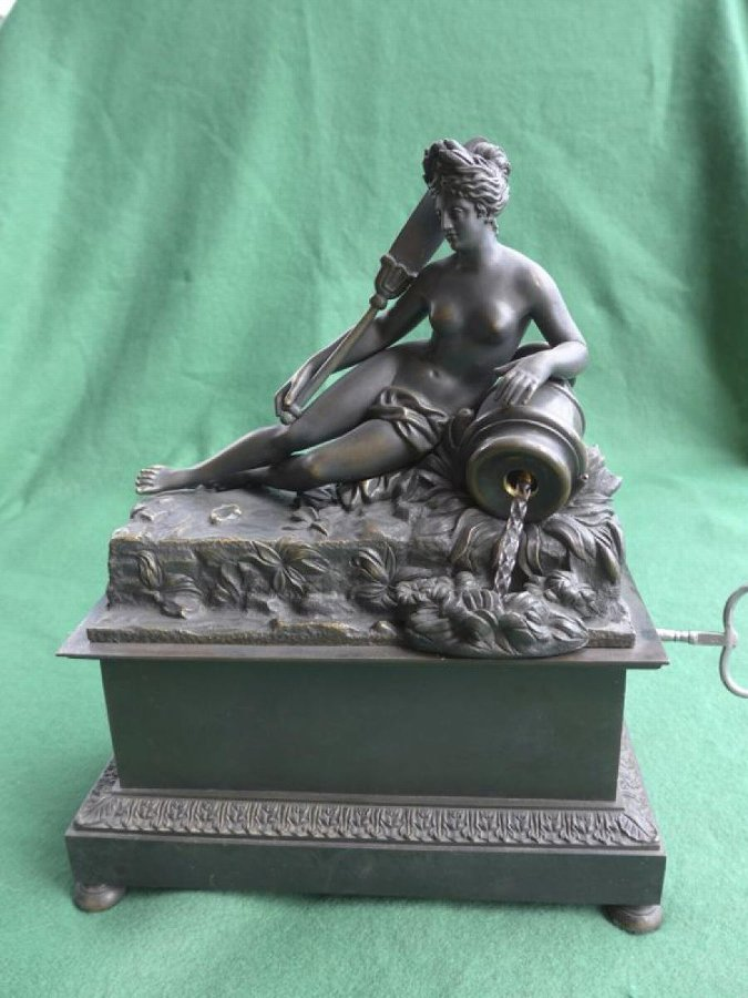EMPIRE PERIOD BRONZE FOUNTAIN