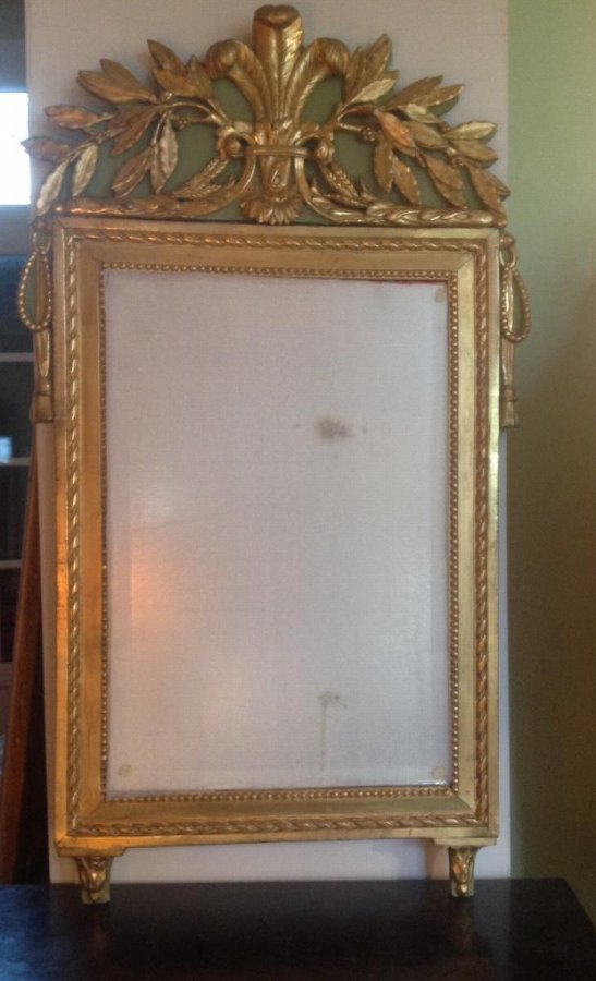 18th C FRENCH MIRROR
