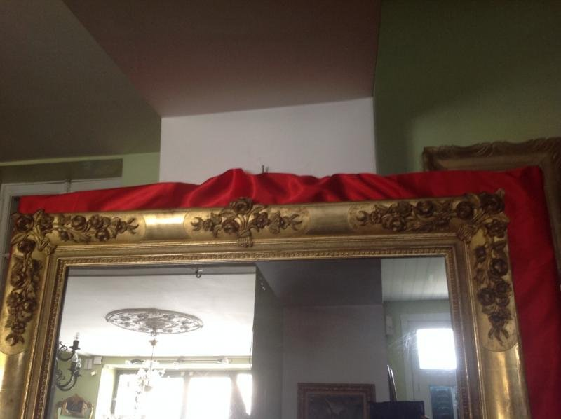 Antique RESTAURATION PERIOD MIRROR