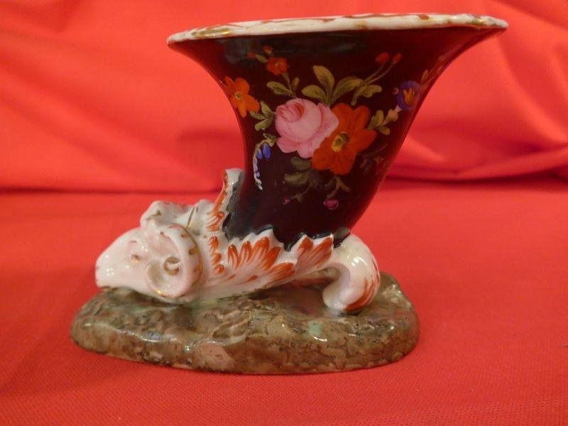 Antique PORCELAINE INK WELL