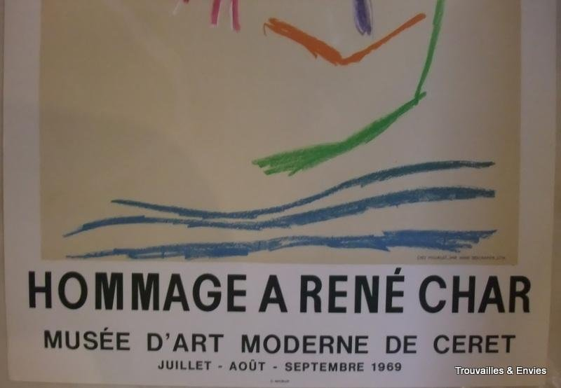 POSTER BY PICASSO 1969