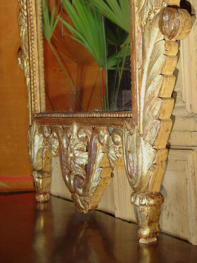 Large 18th century Mirror Provence