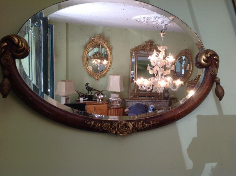 ART NOUVEAU PERIOD MIRROR