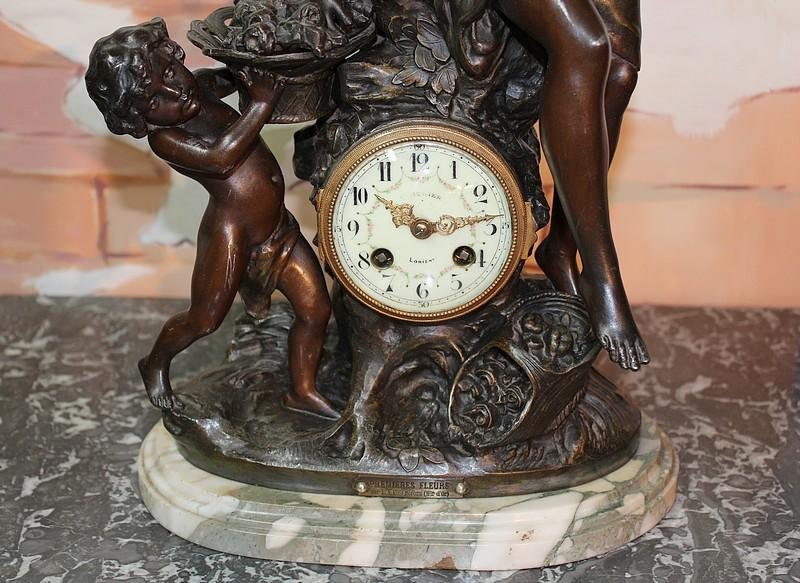 Antique 19th C FRENCH CLOCK