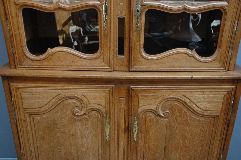 Antique 19th Century French Buffet Deux Corps from Normandy