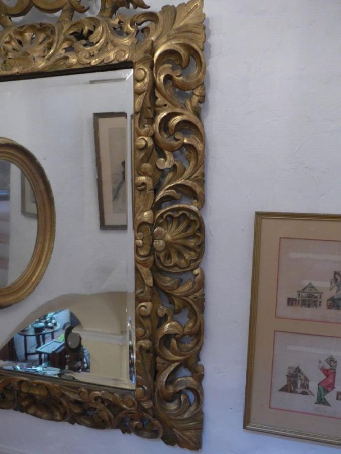 Antique MURANO MIRROR