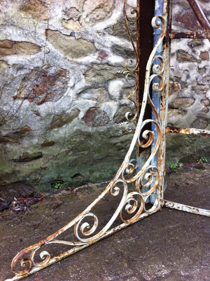 Antique 19th C MARQUISE CANOPY