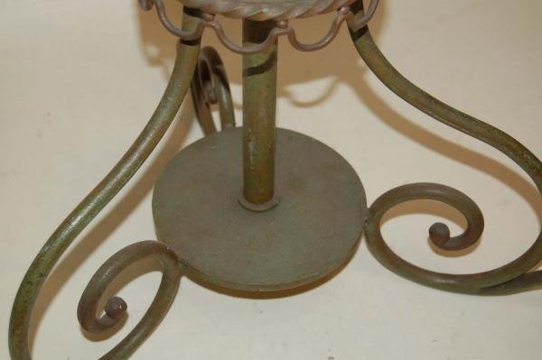 BAGUES STANDARD LAMP IN WROUGHT IRON