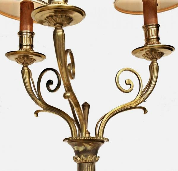 Antique STANDARD LAMP BY MAURICE RINCK
