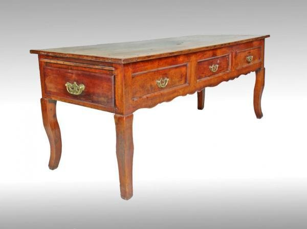 LOUIS XV PERIOD GAME TABLE