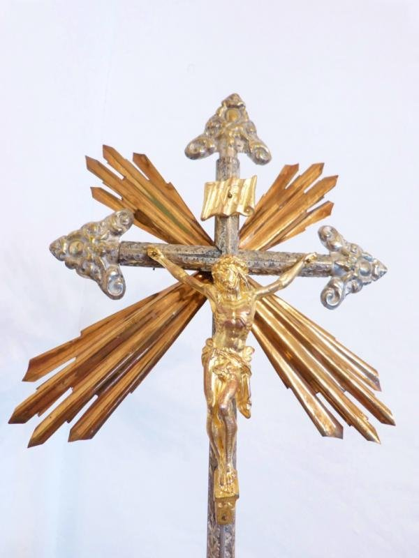 EARLY 19th C CRUCIFIX