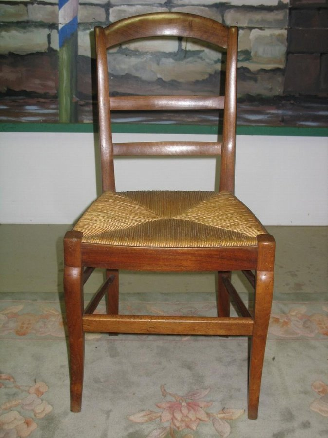 Antique RESTAURATION PERIOD CHAIRS IN WALNUT