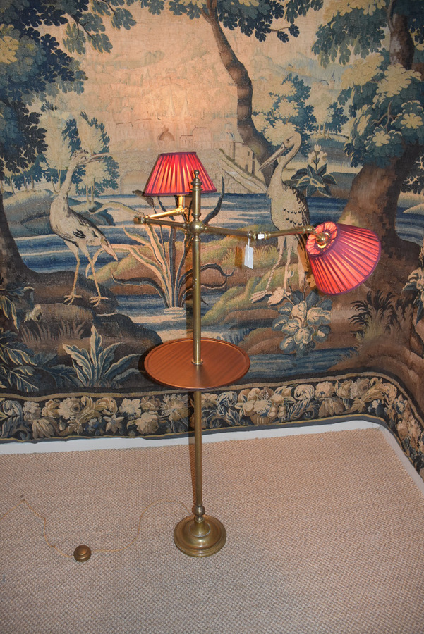 Antique READING LAMP