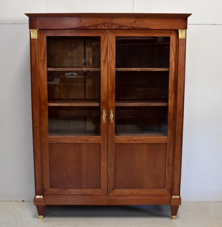 Antique FRENCH DIRECTOIRE STYLE BOOKCASE