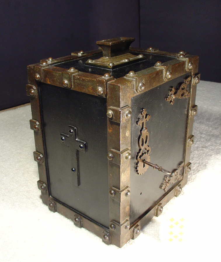 17th century steel Box