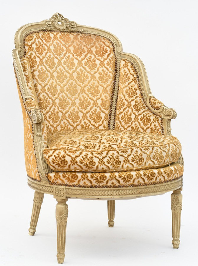 Antique LOUIS XVI STYLE ARMCHAIR