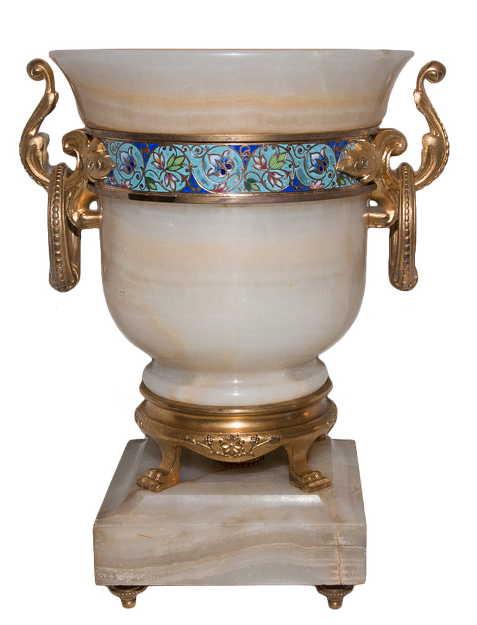 Antique VASE by Eugene Cornu (1827- 1899)