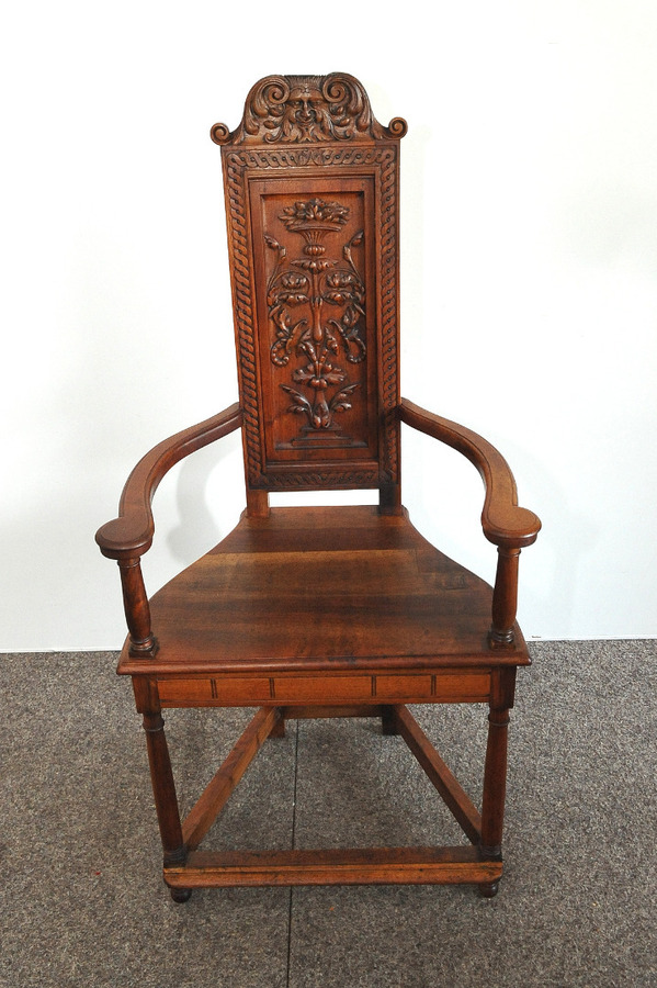 Antique CAQUETOIRE ARMCHAIR