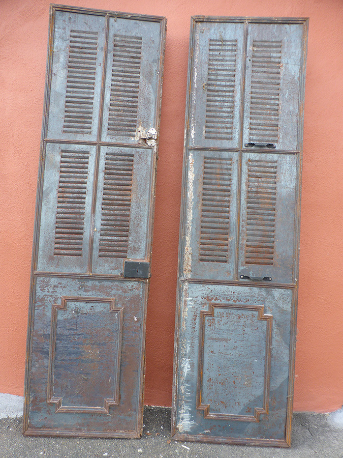 Antique 19th CENTURY METAL DOORS