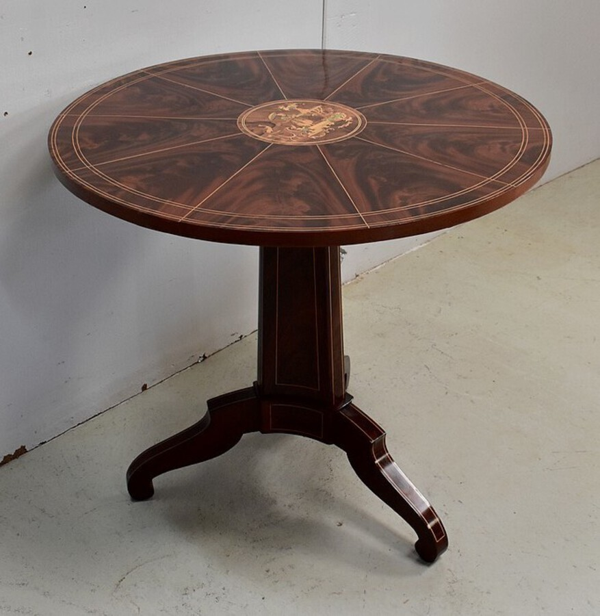 Antique CHARLES X PERIOD TILT TOP TABLE